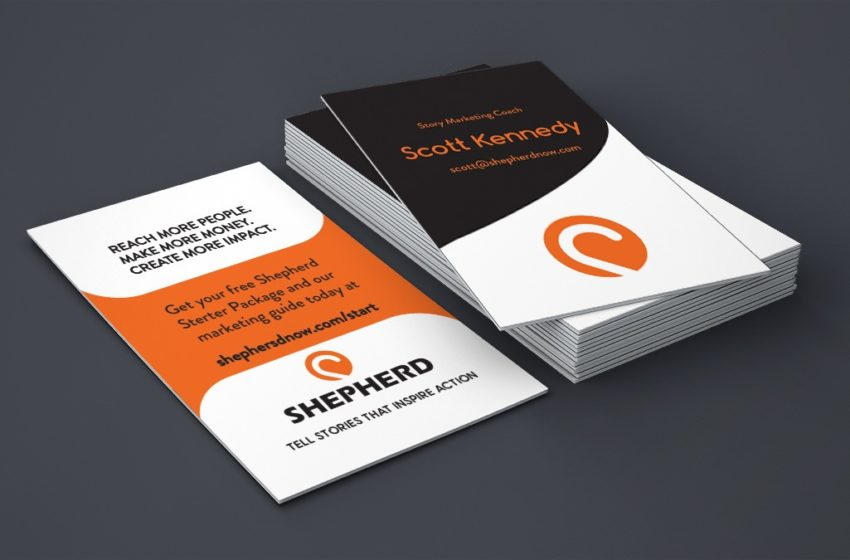 Time to choose your business card