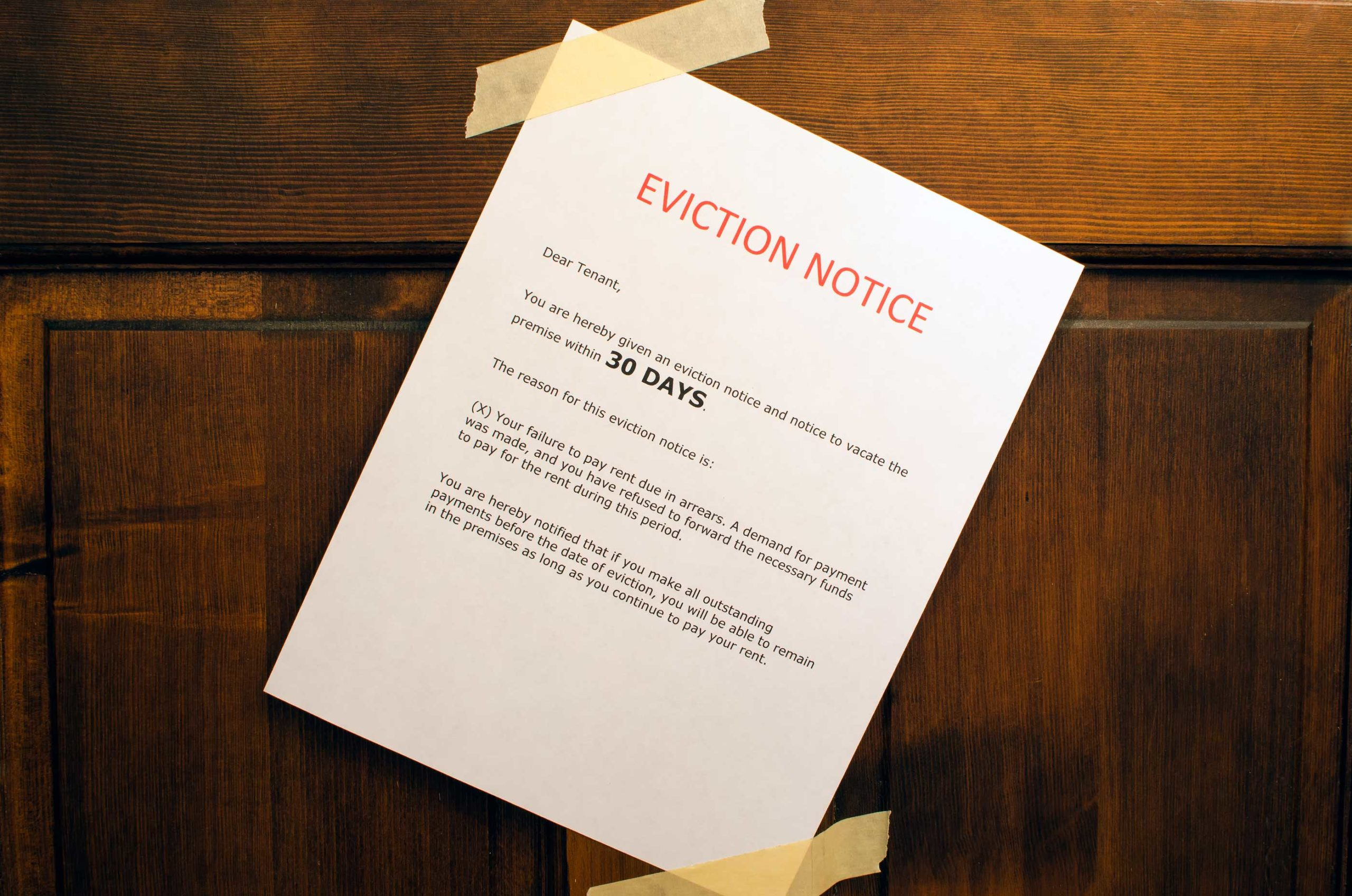 How to Serve 3-Day Eviction Notices