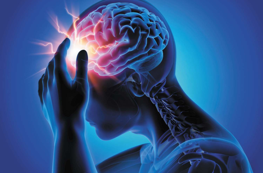 How do migraines affect the brain?