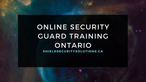 Online Security Guard Training – Is it Really Possible to Get Certified Online?